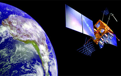 Much like God, a GPS satellite floats around our world offering guidance to anyone who asks ... and who uses the right equipment to decode its signal.