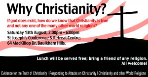Why Christianity Poster 2011